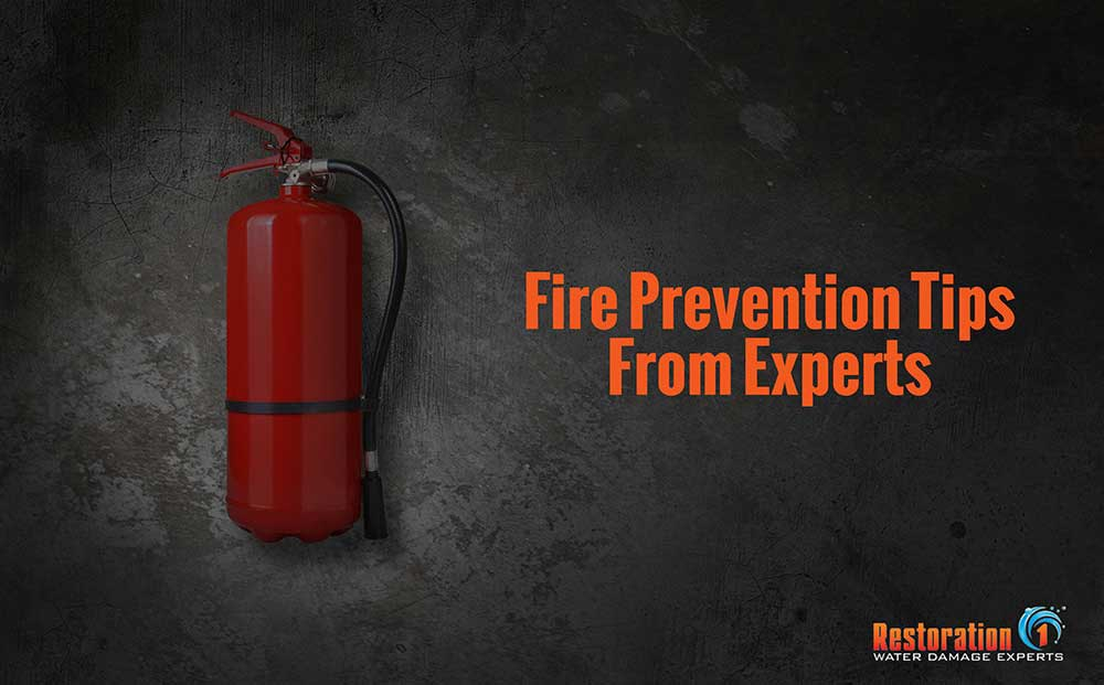 There is a fire every 24 seconds. Don't become part of the statistic. Read these fire prevention tips from Restoration 1 experts.