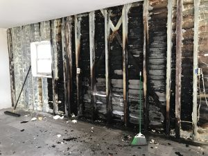 Fire and Smoke Damage remediation and cleanup - restoration 1