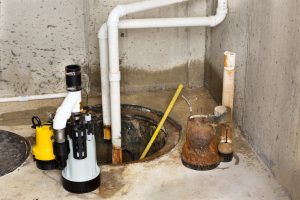 Sump Pump Cleanup And Service - Restoration 1