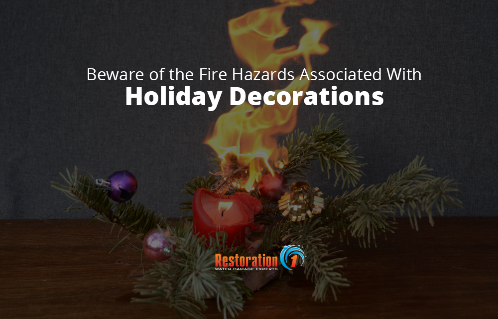 Protect your home from fire damage by being aware of the fire hazards associated with holiday decorations